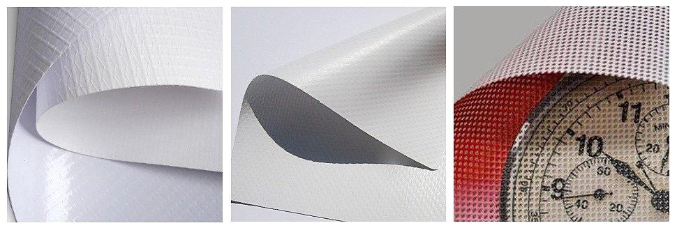 Ламінована банерна тканина, лита банерна тканина, банерна сітка